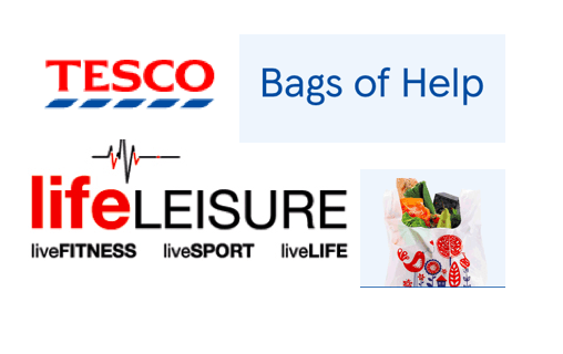 Life Leisure finalist in Tesco Bags of Help fund