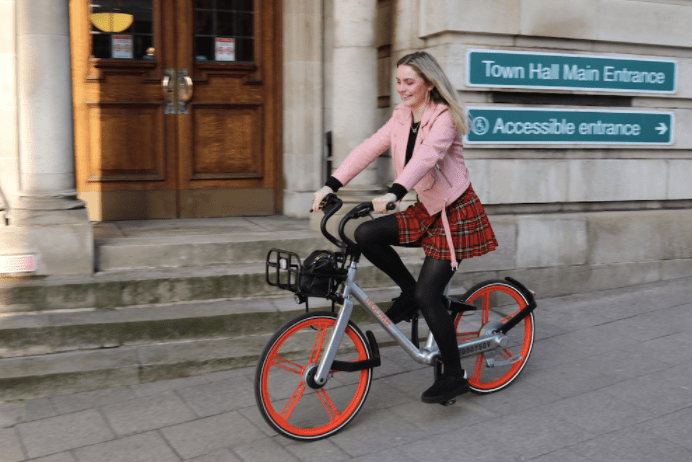 Mobikes come to Stockport