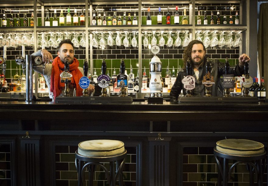 Licensees of the Prince of Orange, Paul (left) and Jonny (right)