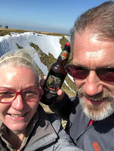 Queen's Head Troutbeck duo climbing the fells for Help for Heroes