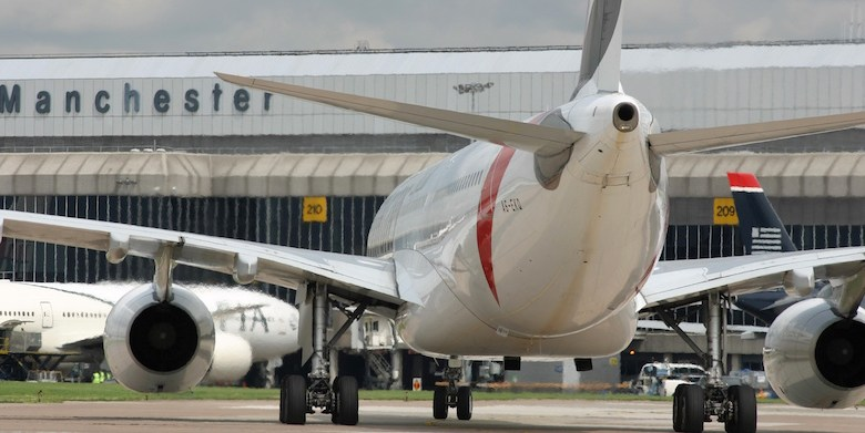 Manchester Airport emergency services exercise