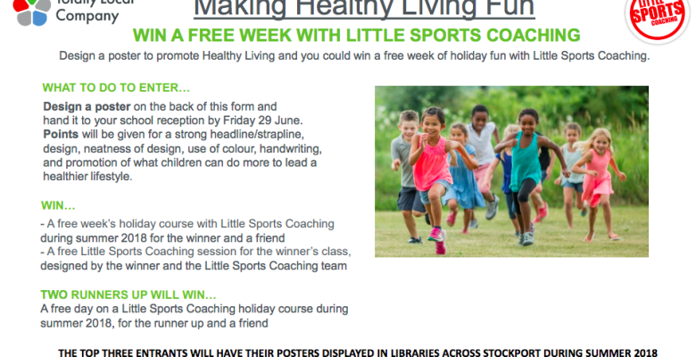 Company encourages children to get totally healthy