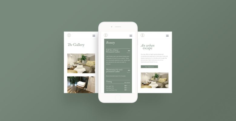 Dawn Creative create mobile optimised website for Angelica Retreat