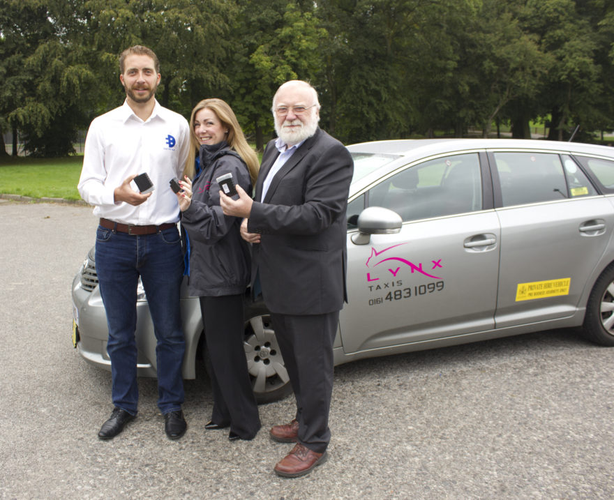 Lynx taxis join Stockport Clean Air campaign