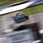 Stockport Supberbike rider Iddon on track at Thruxton