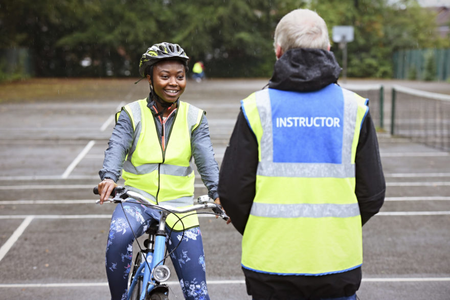 Learn to Ride cycle scheme in Stockport