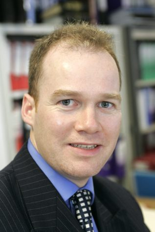 Head of Marketing at Manchester Airport, Patrick Alexander