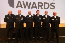 Account handler at C&C Insurance Brokers, David Browne has won a prestigious national police award,