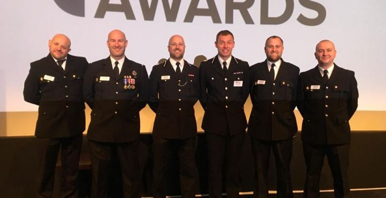 Account handler at C&C Insurance Brokers, David Browne has won a prestigious national police award,