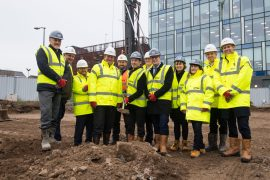 2 Stockport Exchange ground breaking