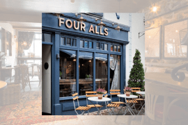 Robinsons Investment Continues with Extensive Refurbishment at Four Alls Caernarfon