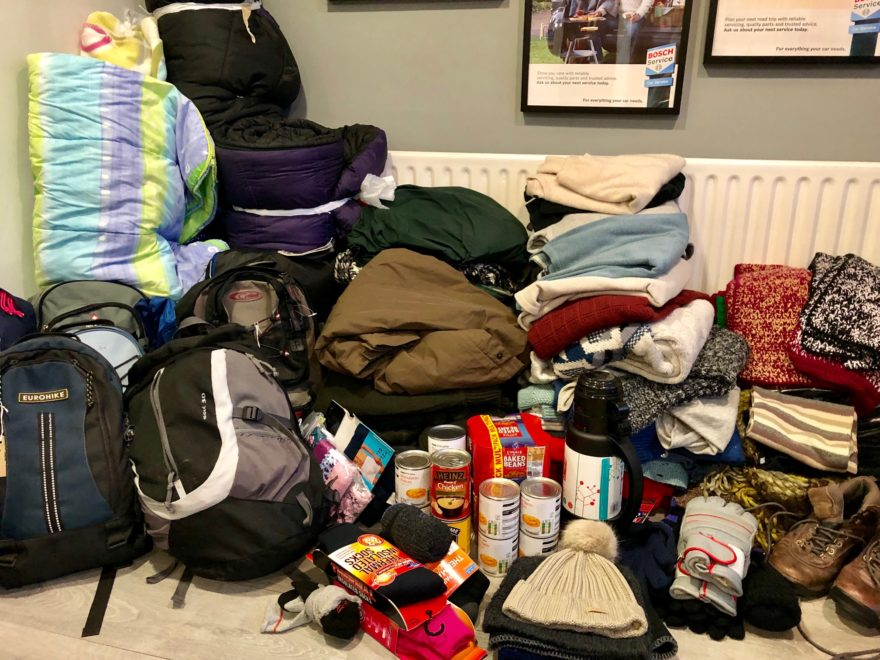 Donations to The Wellspring from John Delany customers