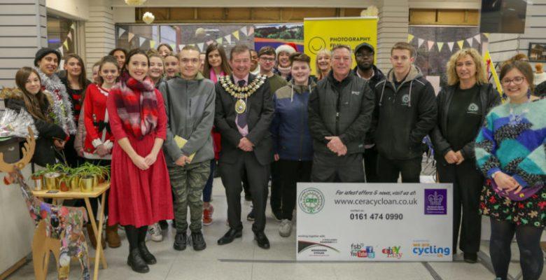 Stockport Mayor Opens SAZ Media event