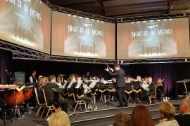 Poynton Brass Band raises £1000 for Stockport Foodbank