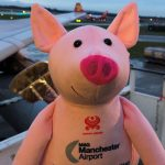 Chinese New Year of the Pig celebrations at Manchester Airport