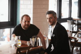 Didsbury Gin co founders - Mark Smallwood and Liam Manton