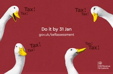 Self Assessment Tax returns deadline 31st January