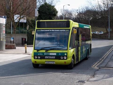 Stockport shuttle bus