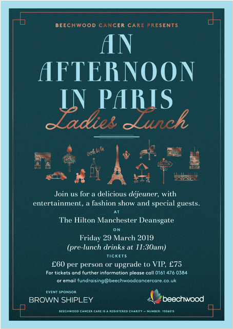 Beechwood Cancer Care Ladies Lunch
