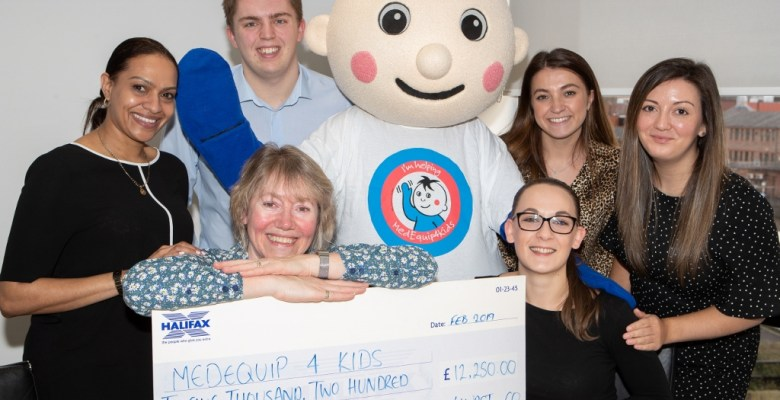 Stockport Accountants Hurst raised over £12,000 for MedEquip4kids