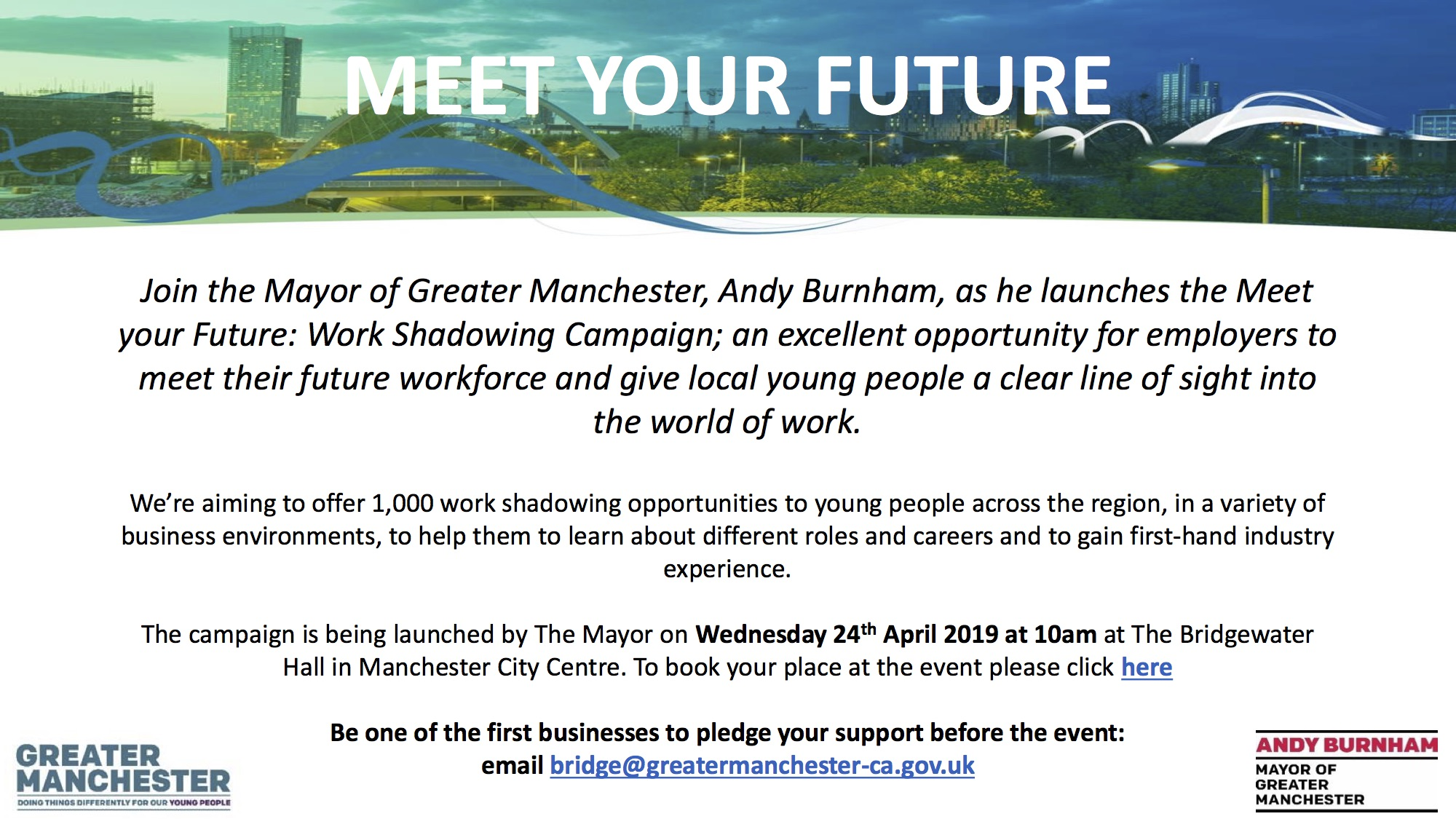 """""""An excellent opportunity for employers to meet their future workforce"""""""