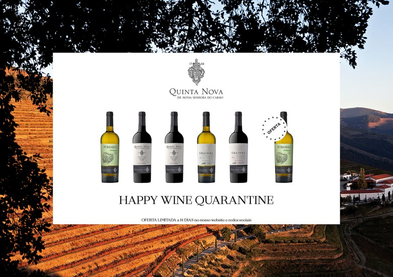 Pack 1 Happy Wine Quarantine - Quinta Nova Nossa Senhora do Carmo