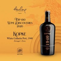 "Kopke no Top 100 do ""Wine Discoveries 2020"""