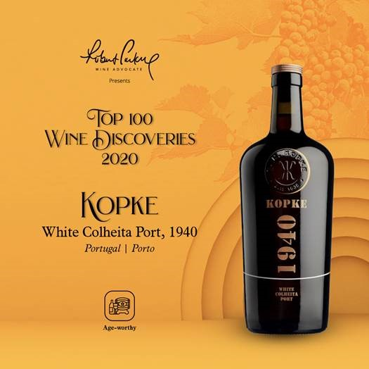 Top 100 wine discoveries Kopke 1940