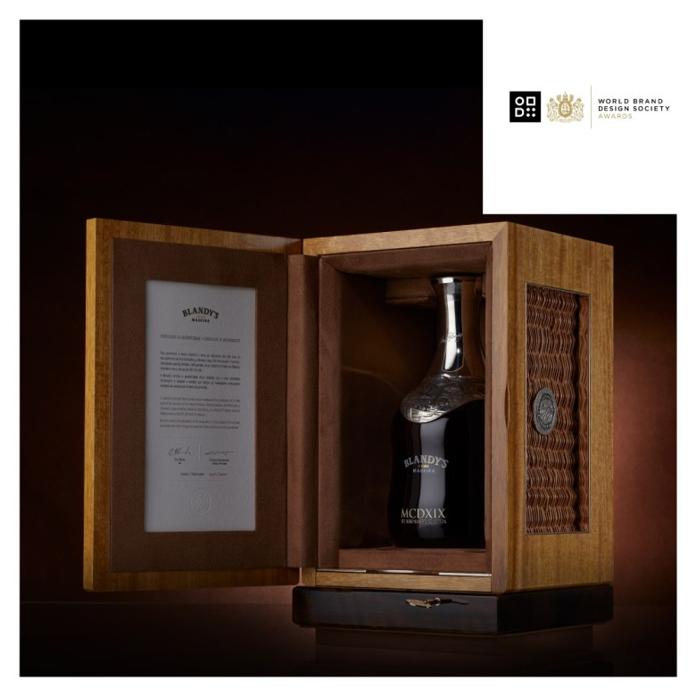 Packaging Blandy's The Winemaker's Selection
