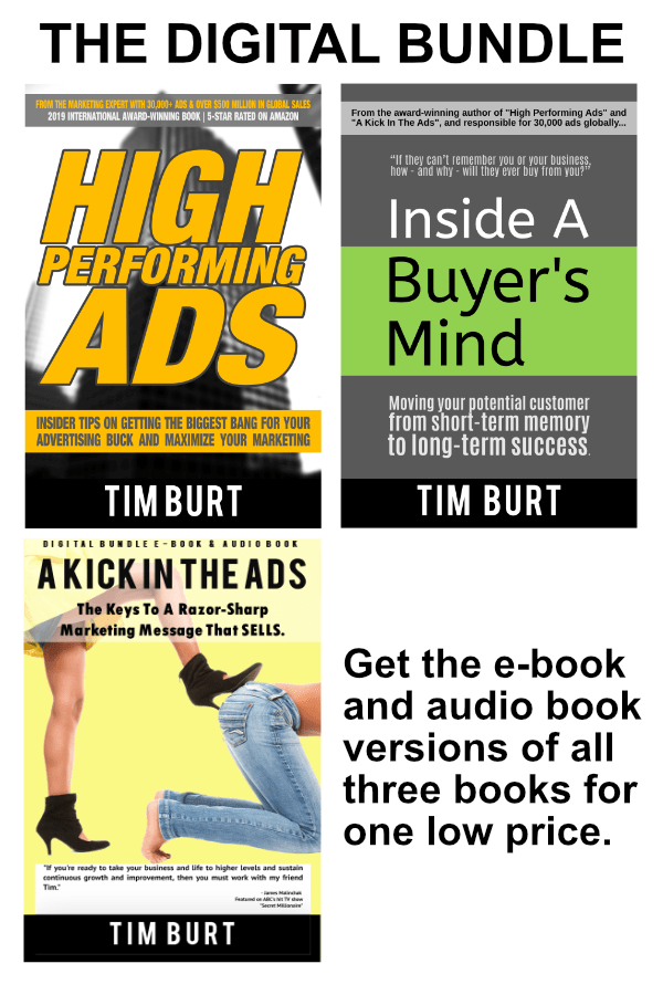 Tim Burt book digital bundle