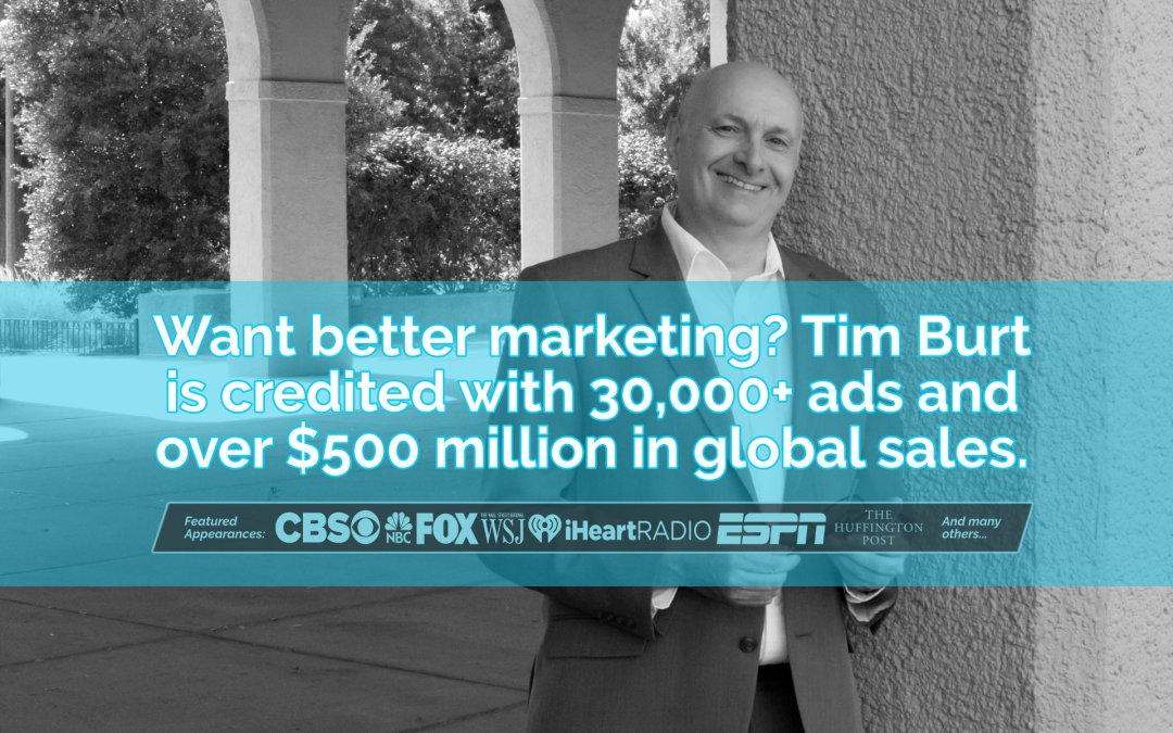 Tim Burt: America's Number One Marketing Strategist
