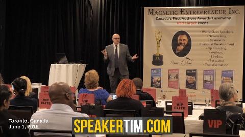 Tim Burt marketing speaker on stage keynote advertising
