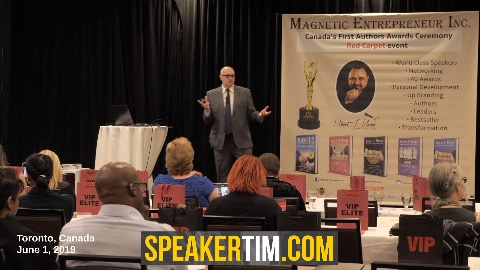 Tim Burt marketing speaker on stage keynote advertising