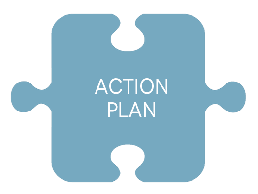 action plan puzzle piece