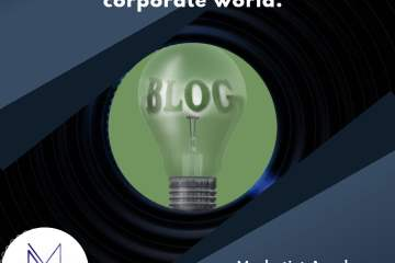 Importance of blogging for corporate world.