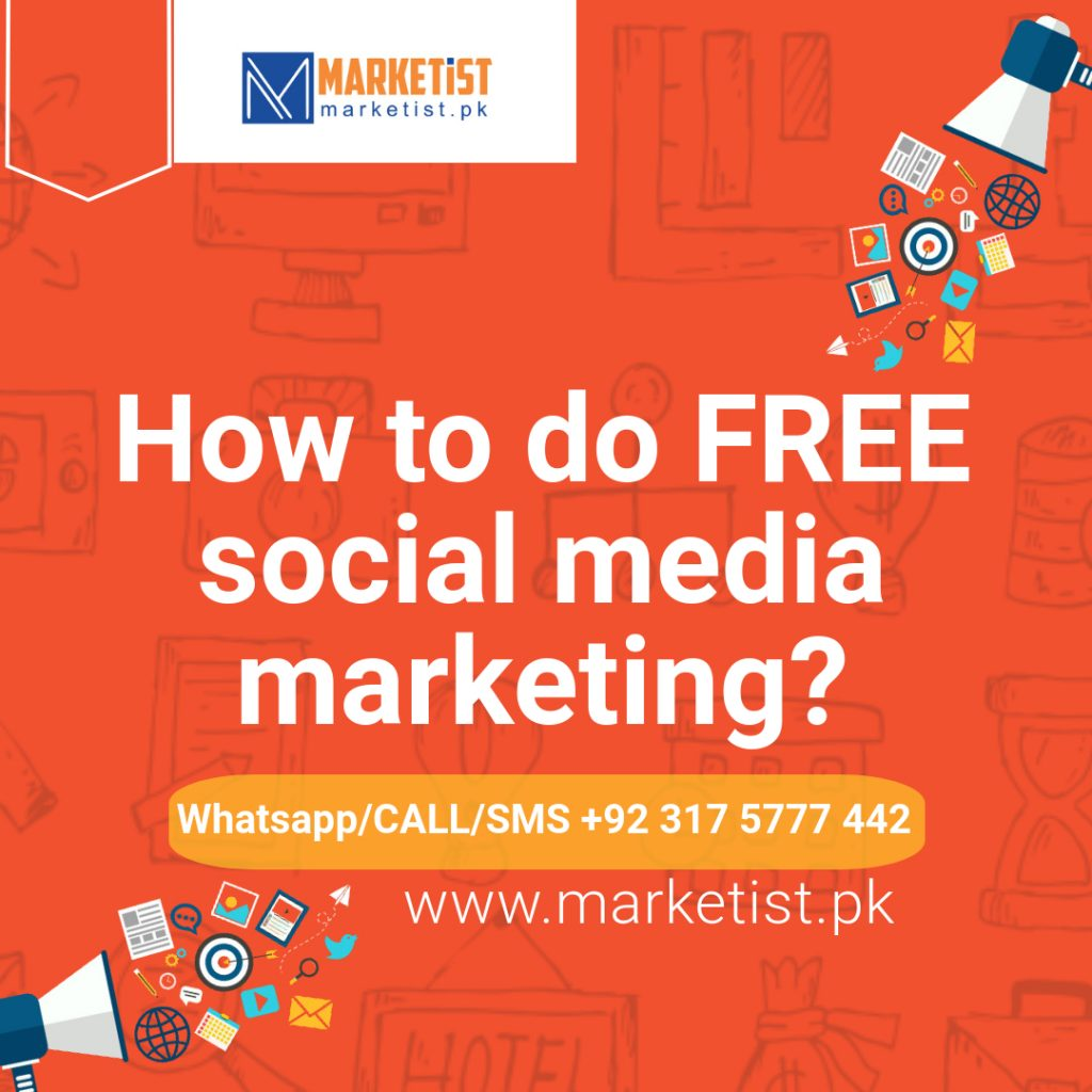 How to do FREE social media marketing?