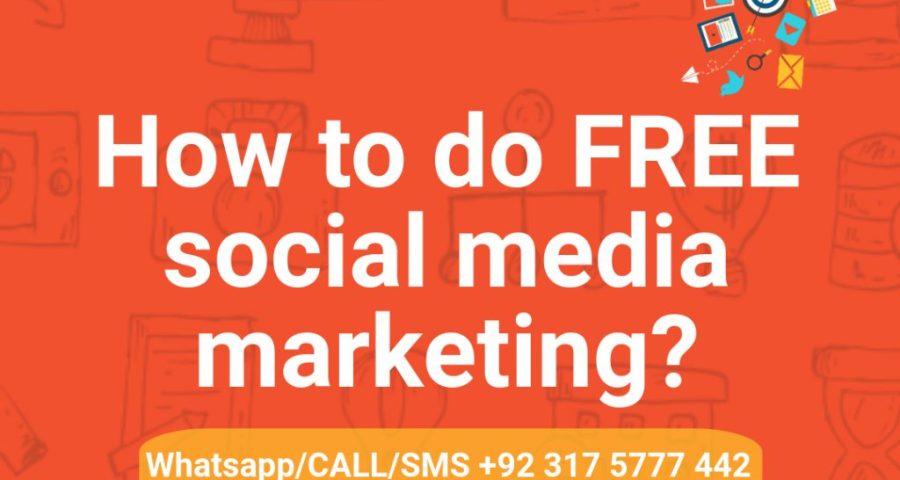 How to do FREE social media marketing?
