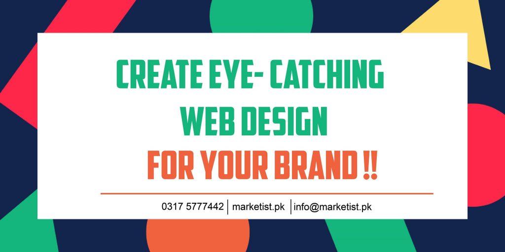 Eye catching website - web design - web solutions