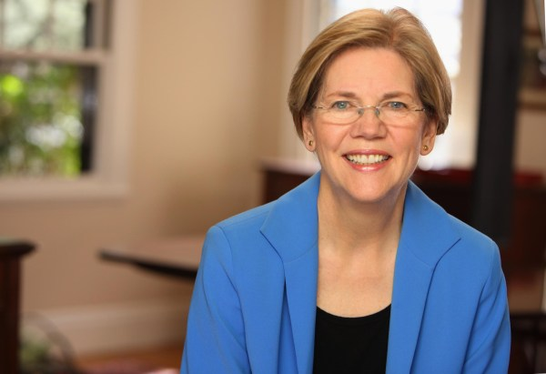 Like Goldwater, Elizabeth Warren is an unlikely looking crusader.