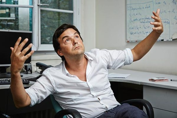 An Intriguing shot of Thomas Piketty