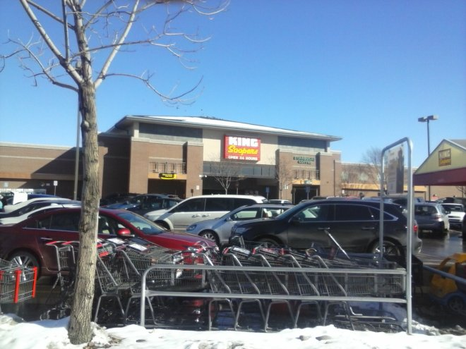 King Soopers a Kroger subsidiary at University Hills Denver.