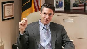 Irish actor Aidan Gillen's entertaining portrayal of sly and fictional Baltimore Mayor Tommy Carcetti on The Wire could sink O'Malley's campaign.