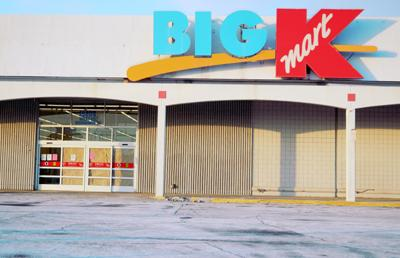 Woodhaven Big Kmart, 19800 Allen Road, was empty of all but some cleaning and moving supplies on Wednesday, the last day it was open to the public. The retailer has been selling off its inventory and store fixtures for the last several weeks. A new development project is expected to get underway in the spring. Photo by J. Patrick Peppe