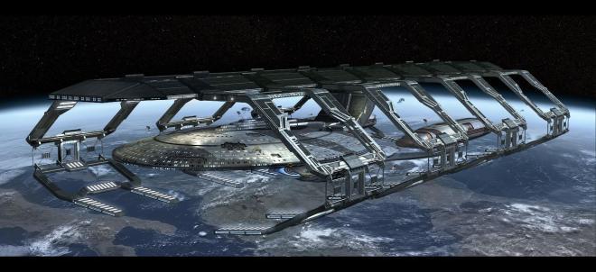 «Drydock: U.S.S. ENTERPRISE - 1701 - E» [ ««The Next Generation» ]