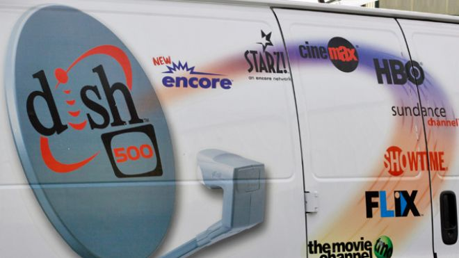 Dish-Network-Satellite-TV-Installers-Truck