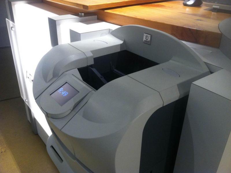 A cash recycling machine.