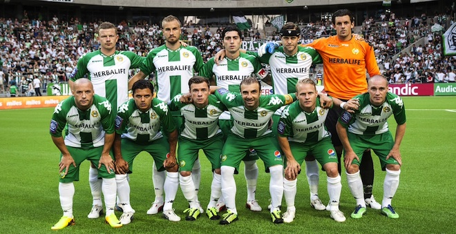 Tele 2 Arena Sthlm. Fotboll Superettan Hammarby-Ljungskile 0-1 Hammarbys startelva