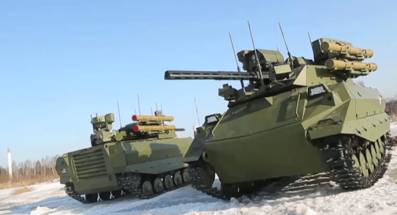 Russian Robot tanks.