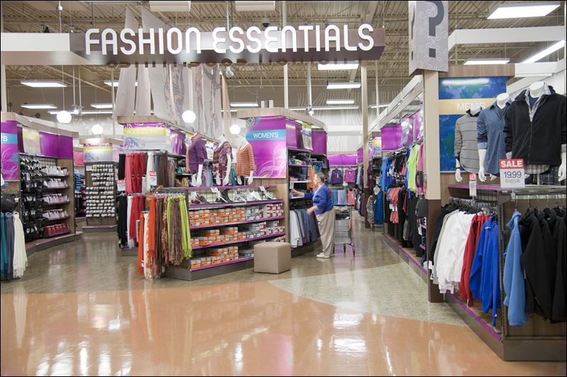Kroger Marketplace also sells clothing.