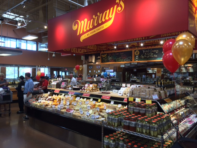 Not your father's supermarket some Kroger locations now contain a gourmet cheese shop.
